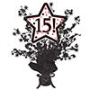 15! BLACK STAR CENTERPIECE PARTY SUPPLIES