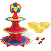 CUPCAKE STAND KIT (BAKING CUPS,& PICKS) PARTY SUPPLIES