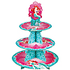 ARIEL LITTLE MERMAID CUPCAKE TREAT STAND PARTY SUPPLIES