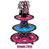 MONSTER HIGH CUPCAKE TREAT STAND PARTY SUPPLIES