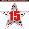 15TH SILVER STAR DECORATION PARTY SUPPLIES