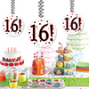 16! DANGLER PARTY SUPPLIES