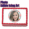 16TH BIRTHDAY PHOTO EDIBLE ICING ART PARTY SUPPLIES