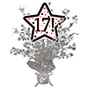 17! SILVER STAR CENTERPIECE PARTY SUPPLIES