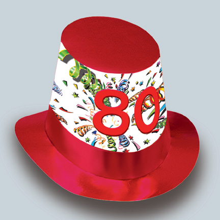 80th Birthday Accessories Party Supplies Discontinued