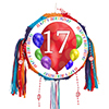 17TH BIRTHDAY BALLOON BLAST PINATA PARTY SUPPLIES