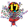 17TH BIRTHDAY BALLOON CENTERPIECE PARTY SUPPLIES