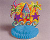DISCONTINUED TROPICANA BEACH CENTERPCE PARTY SUPPLIES