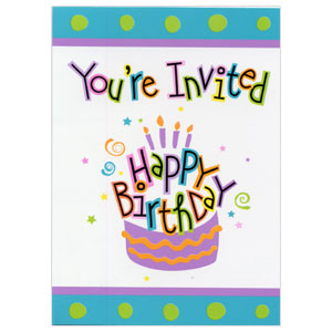Birthday treat party supplies discontinued birthday treat invitation click for larger picture of discontinued birthday treat invitation party supplies filmwisefo