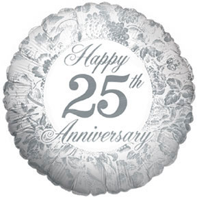 25th anniversary party decorations - 25th anniversary party supplies