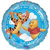 POOH ITS A BOY MYLAR BALLOON 18IN PARTY SUPPLIES