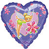 DISCONTINUED DISNEY'S TINK HEART MYLAR PARTY SUPPLIES