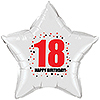 18TH BIRTHDAY STAR BALLOON PARTY SUPPLIES