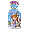 SOFIA THE FIRST CELLOPHANE TREAT BAG 16/ PARTY SUPPLIES