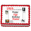1915 PERSONALIZED ICING ART PARTY SUPPLIES