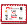 1916 PERSONALIZED ICING ART PARTY SUPPLIES