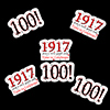 1917 - 100TH BIRTHDAY DECO FETTI PARTY SUPPLIES