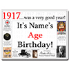 1917 CUSTOMIZED DOOR POSTER PARTY SUPPLIES
