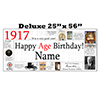 1917 DELUXE PERSONALIZED BANNER PARTY SUPPLIES