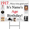 1917 PERSONALIZED YARD SIGN PARTY SUPPLIES