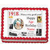 1918 PERSONALIZED EDIBLE PHOTO CAKE IMGE PARTY SUPPLIES