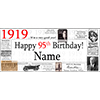 1919 DELUXE PERSONALIZED BANNER PARTY SUPPLIES