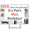 1919 PERSONALIZED YARD SIGN PARTY SUPPLIES