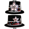 1920 - 98TH BIRTHDAY TOP HAT PARTY SUPPLIES