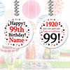 1920 - 99TH BIRTHDAY CUSTOM DANGLER PARTY SUPPLIES