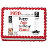 1920 PERSONALIZED ICING ART PARTY SUPPLIES