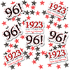 1923 - 96TH BIRTHDAY DECO FETTI PARTY SUPPLIES