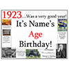 1923 CUSTOMIZED DOOR POSTER PARTY SUPPLIES