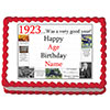 1923 PERSONALIZED EDIBLE CAKE IMAGE PARTY SUPPLIES