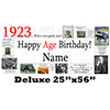 1923 DELUXE PERSONALIZED BANNER PARTY SUPPLIES