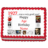 1927 PERSONALIZED ICING ART PARTY SUPPLIES