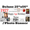 1927 CUSTOM PHOTO DELUXE BANNER PARTY SUPPLIES