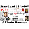 1927 CUSTOM PHOTO BANNER PARTY SUPPLIES