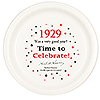 1929 TIME TO CELEBRATE DINNER PLATE PARTY SUPPLIES