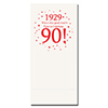 1929 - 90TH BIRTHDAY DINNER NAPKIN PARTY SUPPLIES