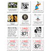 1932 - 87TH BIRTHDAY COASTER PARTY SUPPLIES