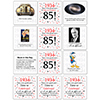 1934 - 85TH BIRTHDAY COASTER PARTY SUPPLIES
