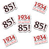 1934 - 85TH BIRTHDAY STICKER SEAL PARTY SUPPLIES