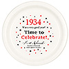 1934 TIME TO CELEBRATE DINNER PLATE PARTY SUPPLIES