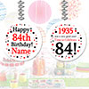 1935 - 84TH BIRTHDAY CUSTOM DANGLER PARTY SUPPLIES