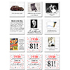 1938 - 81ST BIRTHDAY COASTER PARTY SUPPLIES