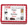 1938 PERSONALIZED EDIBLE CAKE IMAGE PARTY SUPPLIES