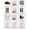 1939 - 80TH BIRTHDAY COASTER PARTY SUPPLIES