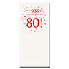1939 - 80TH BIRTHDAY DINNER NAPKIN PARTY SUPPLIES