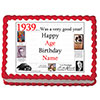 1939 PERSONALIZED EDIBLE ICING IMAGE PARTY SUPPLIES