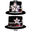 1940 - 79TH BIRTHDAY TOP HAT PARTY SUPPLIES
